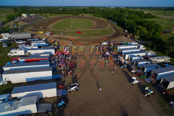 6-8-2018 RACESAVER 305 WINGED SPRINT CARS US36