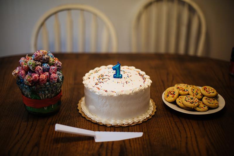 John's First Birthday