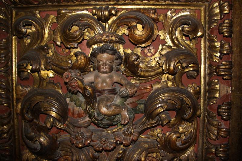 detail of church