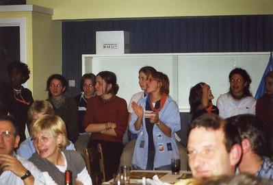 1999-2000 - Activiteit - Kaas & Wijnavond