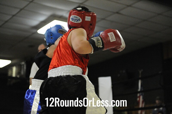 Julian Barnes (Fremont Wreckers) vs Julian Sierra (Detroit)  Bantam Weight Division  Bout #1