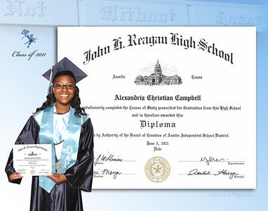 2012 Reagan Keedjit™ Diploma Proofs