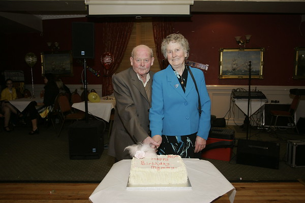 Mary Dillon 80th Birthday in PJ Foys