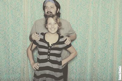 Amelia and George Photo Booth