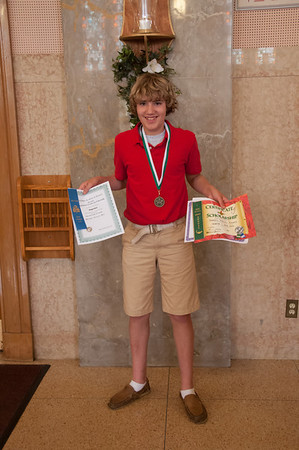 Quentin's Awards, 8th Grade (May 2013)