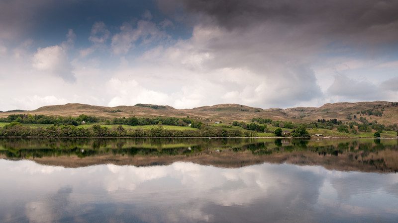 Reflections in Loch Awe