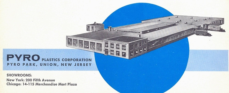 Pyro Plastics Corporation of Union has supplied countless model and toys to kids of all ages. Headed by Bill Lester who invented the modern injection molding process. The company moved to Union in 1960 onto what is now Brighton St. and was sold in 1972. Great links to more info (copy and paste the link) :  http://www.oldmodelkits.com/blog/plastic-model-kit-history/william-bill-morris-lester-–-the-father-of-modern-injection-molding-and-founder-of-pyro-plastics/  http://www.oldmodelkits.com/blog/plastic-model-kit-history/the-kits-of-pyro-plastic-company-an-illustrated-guide/