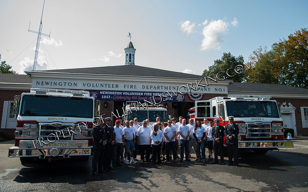 Newington Fire Department Apparatus Dedication