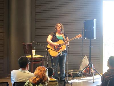 Instrumnetalists @ the Plaza-Mollie Garrigan, guitar September 15, 2013