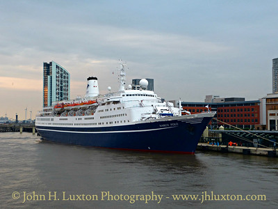 MS MARCO POLO at Liverpool Cruise Terminal - August 27, 2016