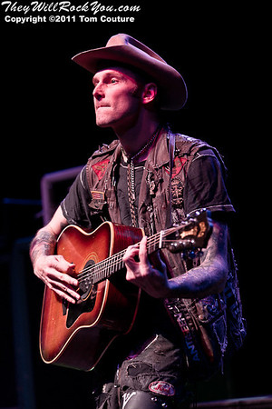 Hank III <br> November 18, 2011 <br> The Palladium - Worcester, MA <br> Photos by: Tom Couture