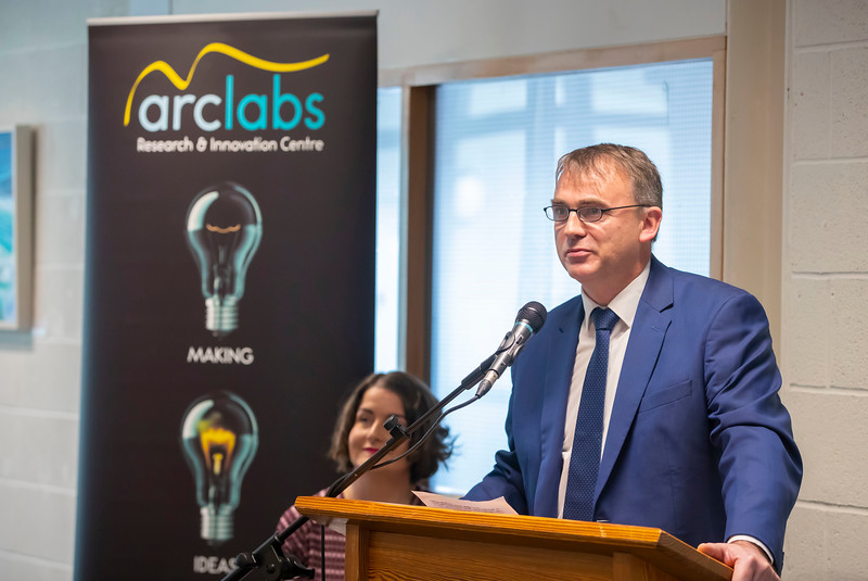 15/11/2019. FREE TO USE IMAGE. Pictured at the The official opening of the ArcLabs Research & Innovation Centre WIT extension, at Carriganore, Co Waterford. Picture: Patrick Browne