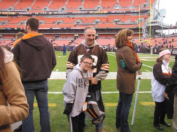 Browns/Ravens game 11/4/12