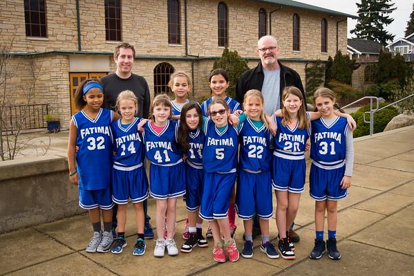 2016-17 4th Girls hoops