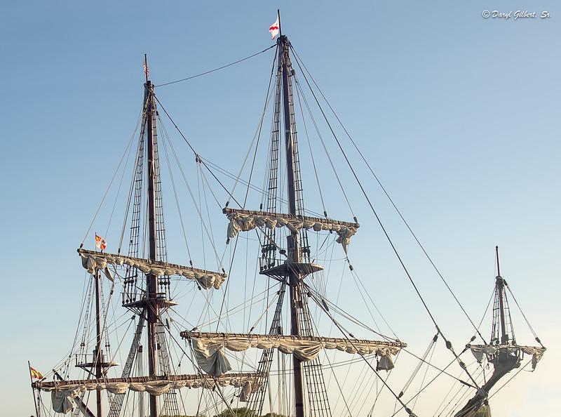 "Geometrically Precise Rigging of the Spanish Galleon ""El Galeon"""