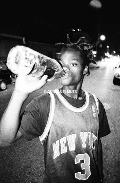 Harold Hunter at Bell Cafe 1994