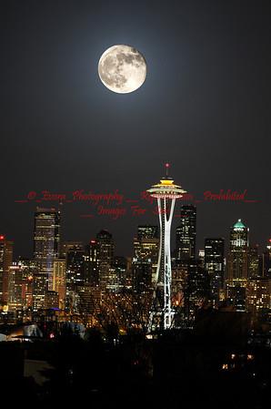 Full Moon Seattle Area 50