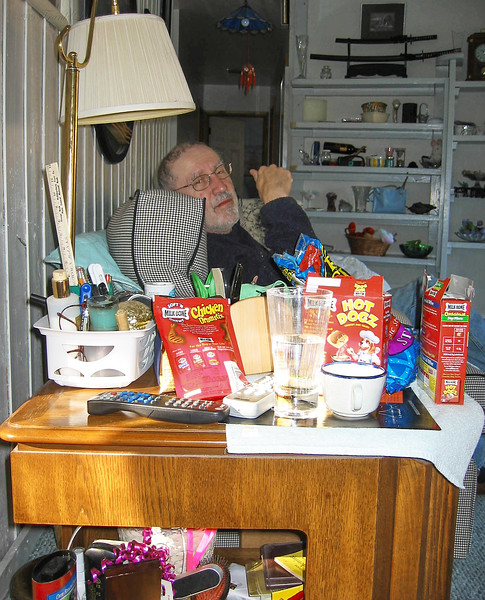 Larry Lebin, at home, Jan 26 2002.