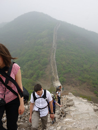 hike the chen castle Great wall