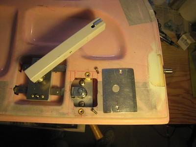Flush Door Lock System
