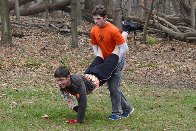 Wrestlers @ Johnson's Mound