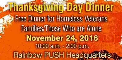 Thanksgiving Dinner Nov 24, 2016