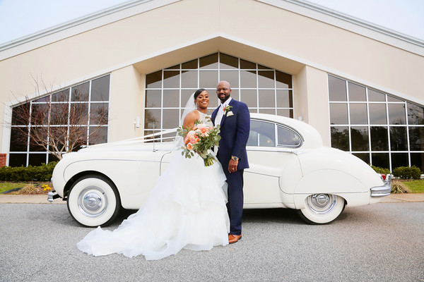 The Bluford-Hopper Wedding