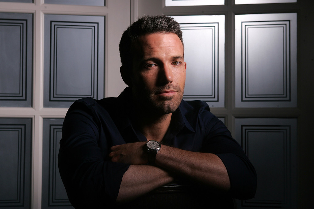 . Actor Ben Affleck of the film The Town poses for a portrait while promoting the film at the Toronto International Film Festival Friday Sept. 10, 2010.   (AP Photo/Carlo Allegri)