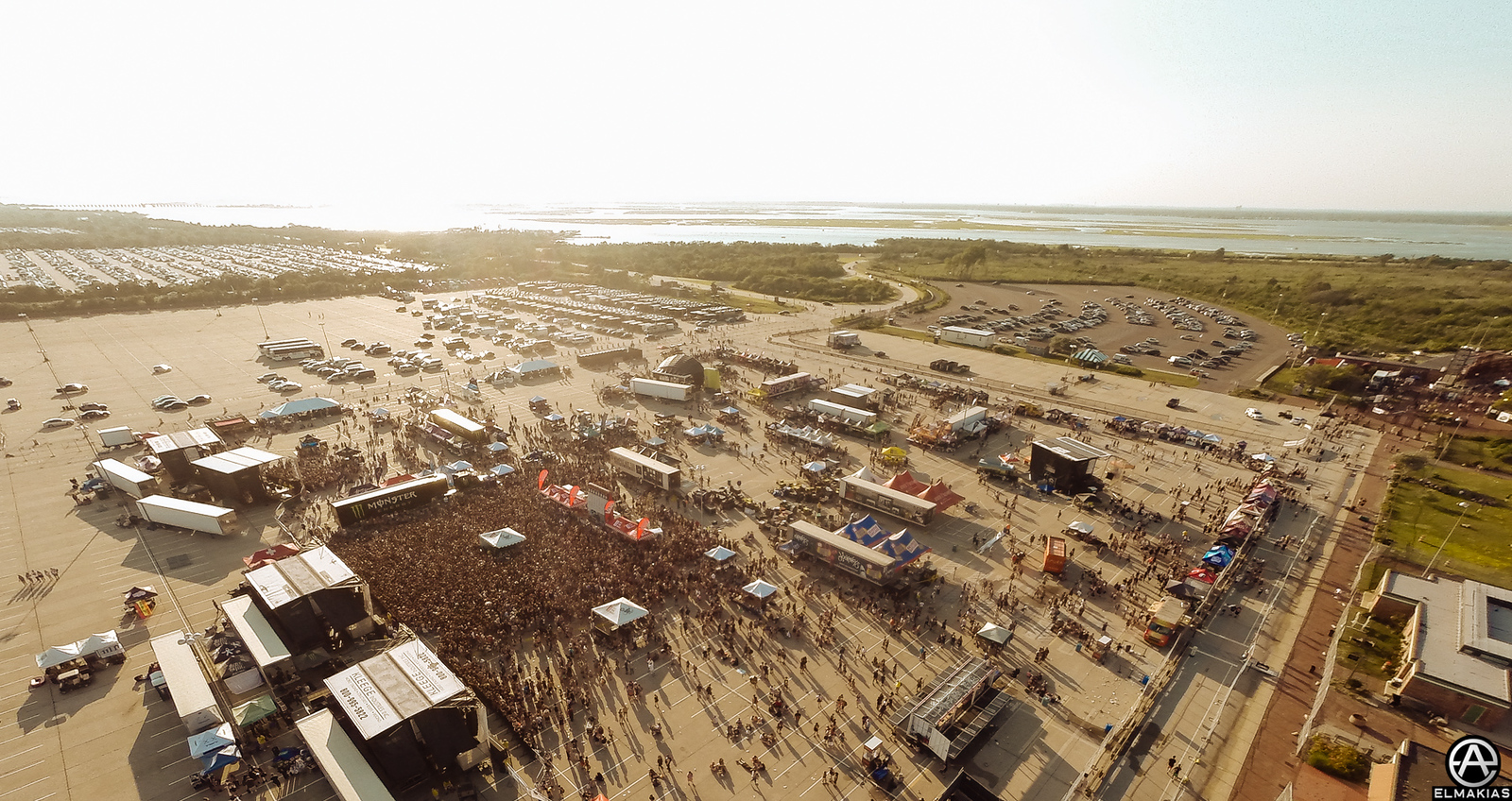 Warped Tour from the sky by Adam Elmakias