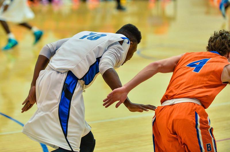 Basketball Varsity Boys vs  Bowie 01-28-14-14