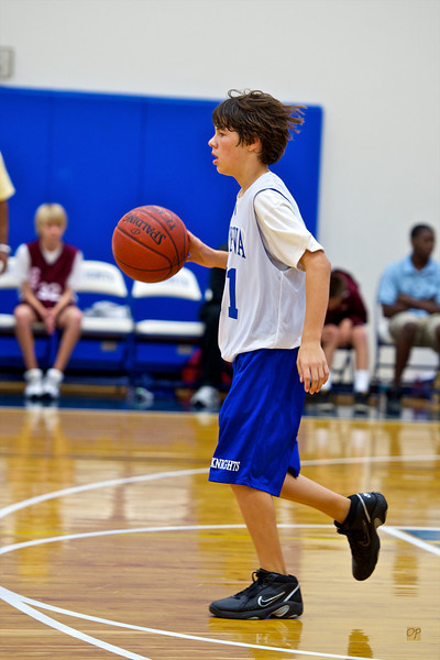 7th/8th Basketball vs. Central Florida Preparatory-December 10, 2010