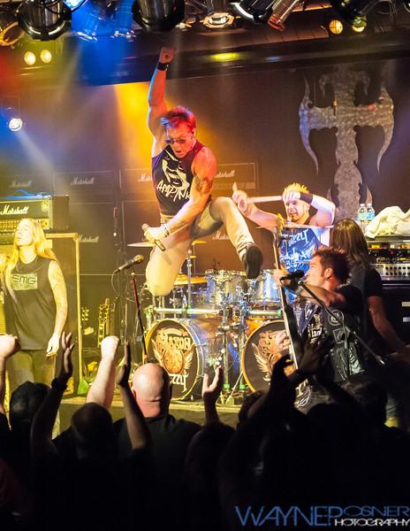 Chris Jericho with Fozzy at Vamp'd Las Vegas