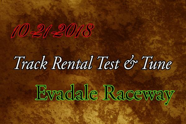 10-21-2018 Evadale Raceway 'Track Rental Test & Tune'