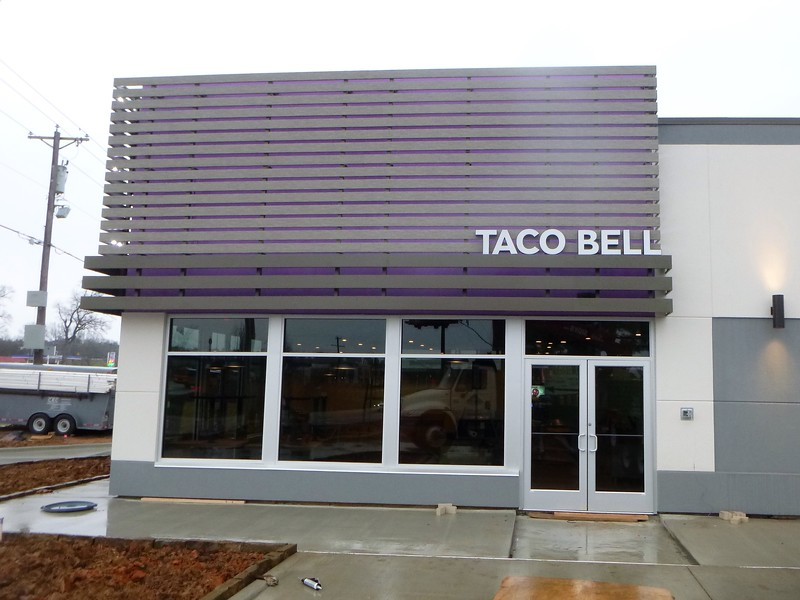 Taco Bell Channel Letters