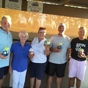 September 2015 PIckleball Tournament
