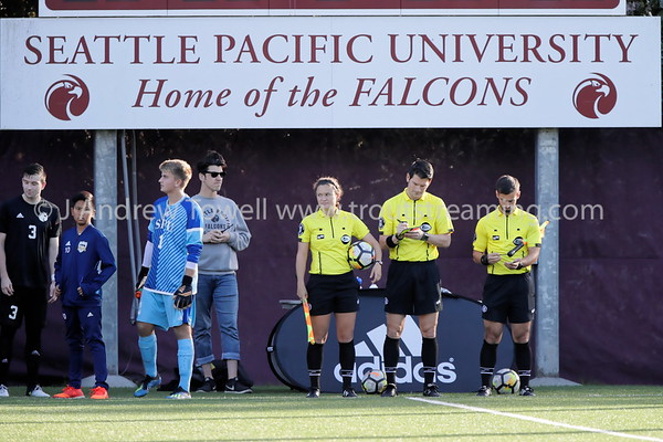 20181011 Mens Soccer Seattle Pacific University Falcons versus Western Washington University Vikings Snapshots