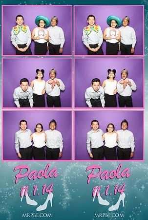 Paola's XV   Nov. 1st 2014