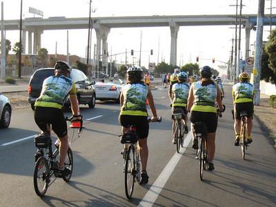 Bike the Bay Aug. 30 2009