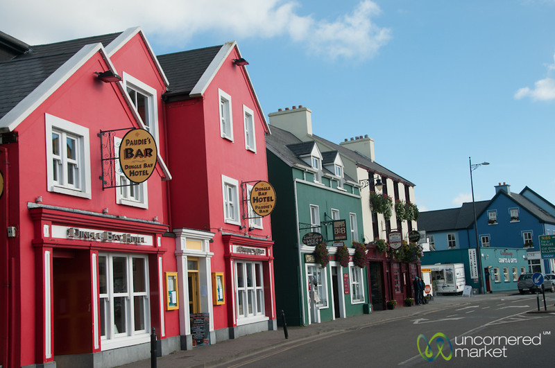 Dingle Town in All its Color - County Kerry, Ireland