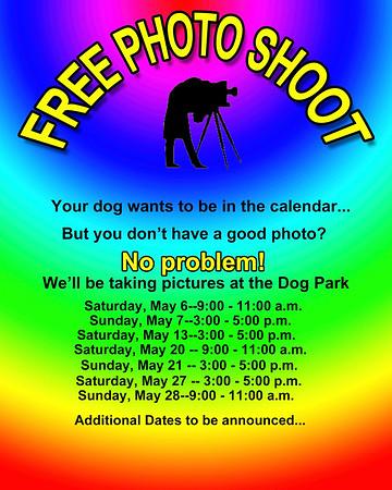 2018 Dog Park Calendar Posters