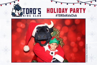 December 20, 2018 - Toro's Kids Club Holiday Party