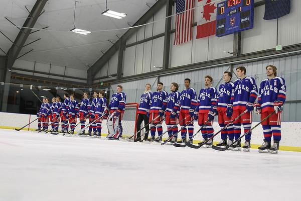 Boys' Varsity Hockey Senior Ceremony