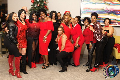"DECEMBER 15TH, 2018: THE BLACK AND RED AFFAIR ""JACK YOUR BODY"" EDITION @ APA HOTEL W/ TINA GRAHAM AND 3 SAG ENTERTAINMENT"