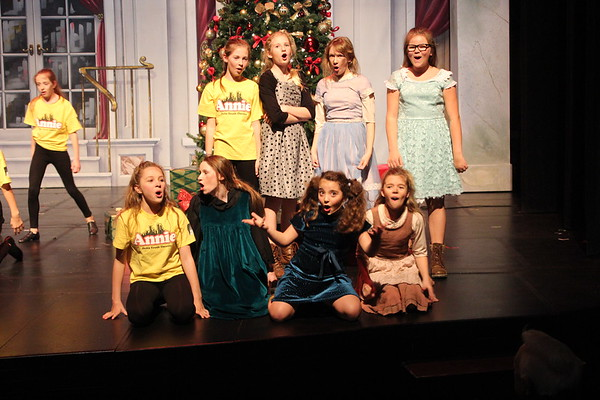 Delta Youth Theatre Annie 2017 Nov 30