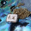 'For You I Live' 18kt Rose Gold Cast Rebus Pendant, by Seal & Scribe 2