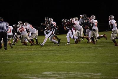 Badger football v. Racine Horlick
