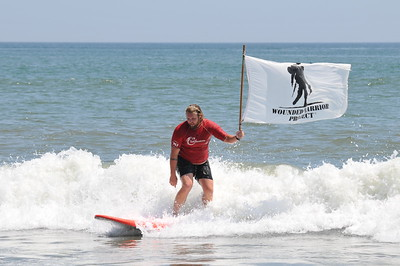 Wounded Warriors Surf Camp August 2019