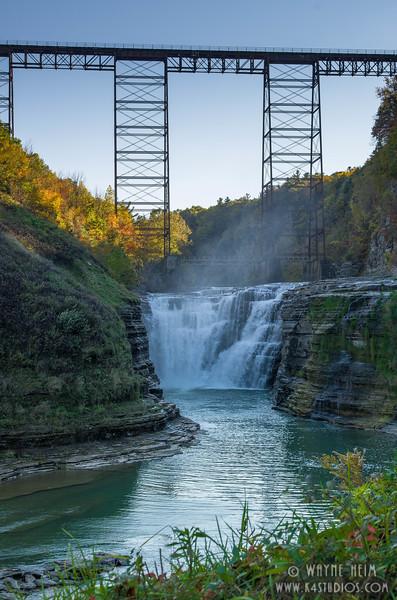 Falls Below Bridge    Photography by Wayne Heim