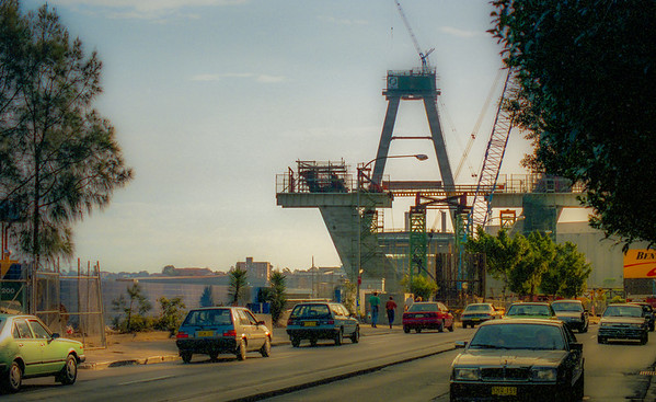 Construction of the Anzac Bridge [1993-1995]