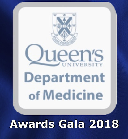 Queen's Dept of Medicine Awards Gala - December 14, 2018 (Prints)